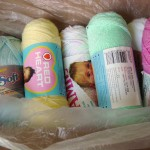 A box of yarn!
