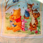The Pooh Quilt is Coming Along