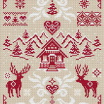 Diamond Cross-stitch Pattern