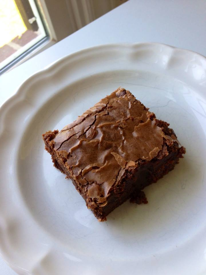 My Nutella brownie