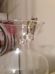 snowflake earrings 2