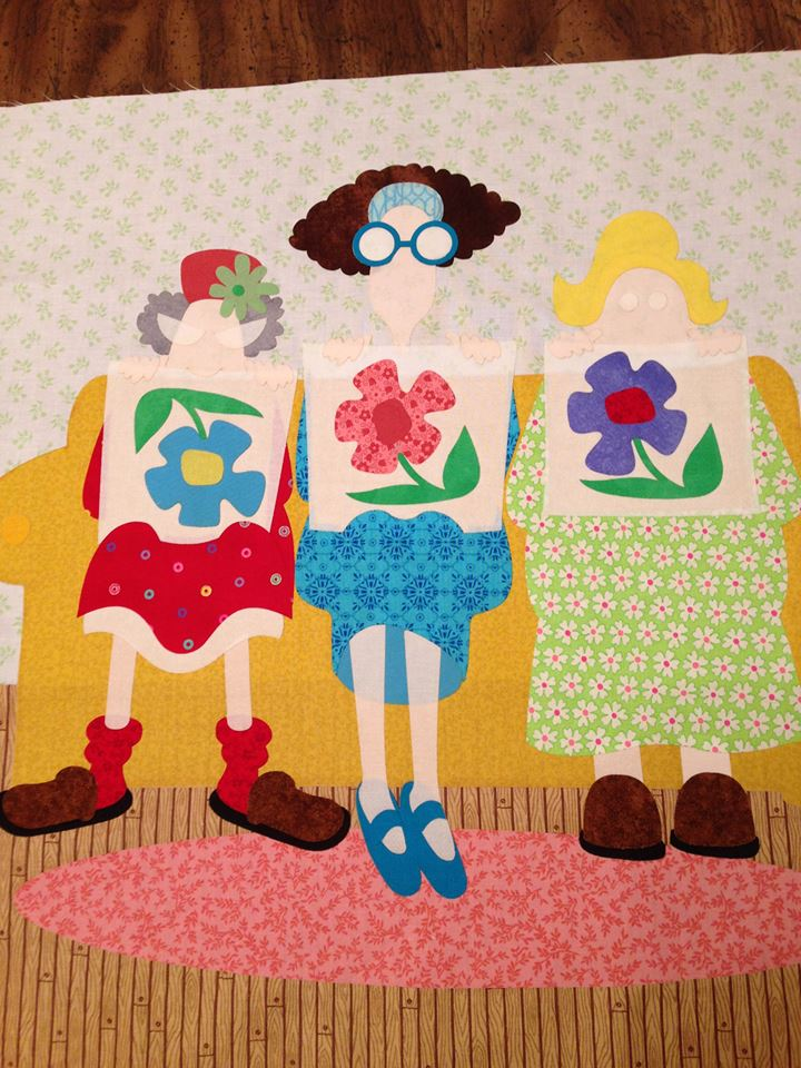 3 Little quilters